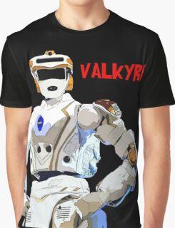 Nasa Space Travel Poster - Valkyrie Robert Graphic T-Shirt