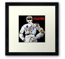 Nasa Space Travel Poster - Valkyrie Robert Framed Print