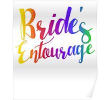 Bride entourage bachelorette party  Poster