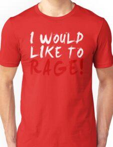 I WOULD LIKE TO RAGE!!! - Grog Strongjaw (White) Unisex T-Shirt