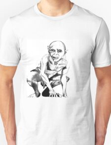 Gollum pencil sketch T-Shirt