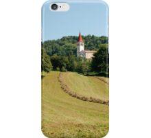 Landscape Near Ilirska Bistrica iPhone Case/Skin