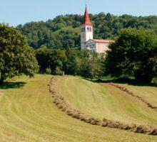 Landscape Near Ilirska Bistrica Sticker