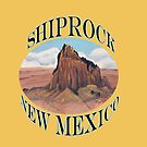 Shiprock New Mexico USA by Barbara Applegate