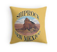 Shiprock New Mexico USA Throw Pillow