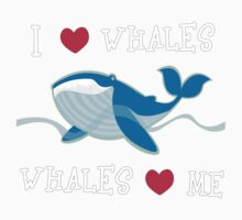 love whales One Piece - Short Sleeve