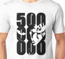 One piece - Luffy - 500kk Unisex T-Shirt