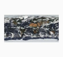 Earth from space One Piece - Short Sleeve