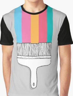 Colorful cartoon fantasy paintbrush  Graphic T-Shirt