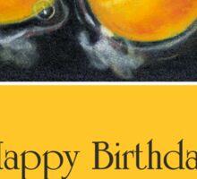 Happy Birthday to Someone Eggs-traordinary: Pun Sticker