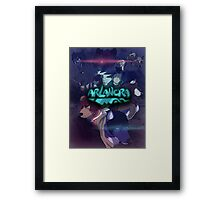 Arlanora - Together with Logo Framed Print