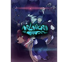 Arlanora - Together with Logo Photographic Print