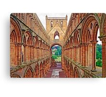 Great Britain  -  Ruins of Jedburgh Abbey, Scotland Canvas Print