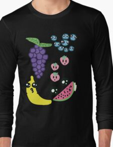 Kawaii Fruit  Long Sleeve T-Shirt