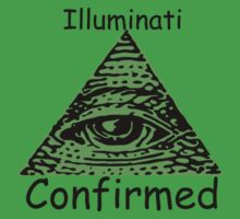 Illuminati Confirmed Kids Tee