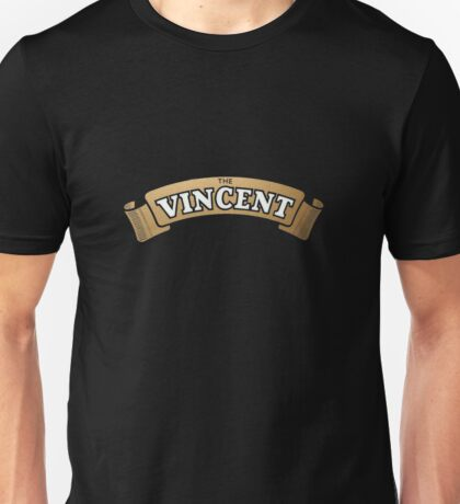 The Vincent Motorcycles emblem Unisex T-Shirt