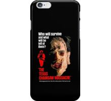 THE TEXAS CHAINSAW MASSACRE 1974 iPhone Case/Skin