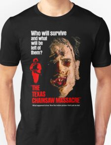 THE TEXAS CHAINSAW MASSACRE 1974 Unisex T-Shirt