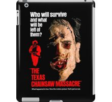 THE TEXAS CHAINSAW MASSACRE 1974 iPad Case/Skin