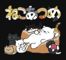 Neko atsume - Tubbs cat & more - Neko One Piece - Long Sleeve