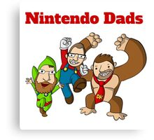 Nintendo Dads Canvas Print