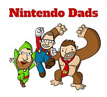 Nintendo Dads Photographic Print