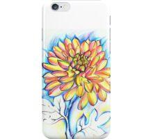 Chrysanthemum Fire iPhone Case/Skin