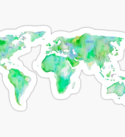 Green Map Sticker