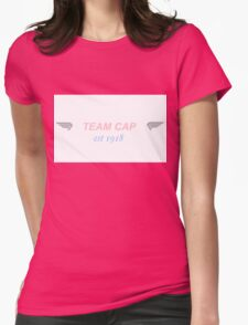 team cap (with wings) Womens Fitted T-Shirt
