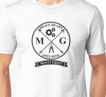 Monty Green Varsity Logo Unisex T-Shirt