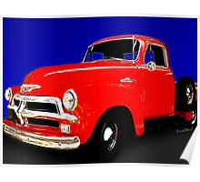 54 Chevy Pickup Acme of an Age Poster