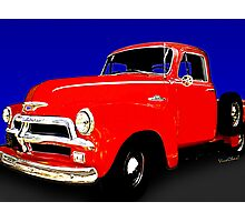 54 Chevy Pickup Acme of an Age Photographic Print