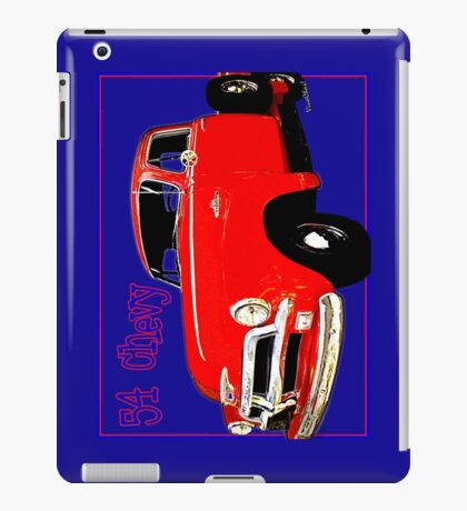 54 Chevy Pickup Acme of an Age iPad Case/Skin