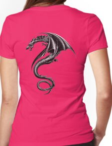 the girl with the dragon tattoo Tattoo Lisbeth salander Womens Fitted T-Shirt