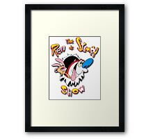 The Ren and Stimpy Show Framed Print