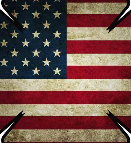 American Firefighter -sticker Sticker