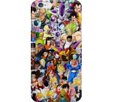 Dragon Ball Z - Insane amount of Characters iPhone Case/Skin