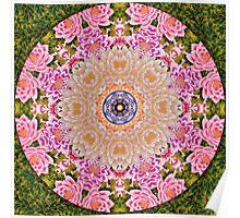 Mandala buda Poster
