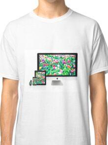 Multiscreen - Apple Watch, iPhone, iPad and iMac screens  Classic T-Shirt