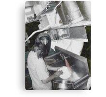 Dish Pit Canvas Print