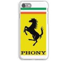Phony Ferrari iPhone Case/Skin