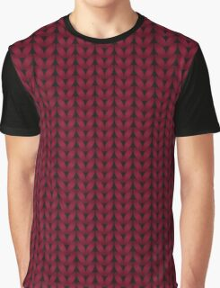 Chunky Knit Graphic T-Shirt