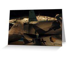 Messerschmitt BF 109 Greeting Card