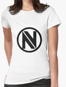 ENVYUS logo (black) Womens Fitted T-Shirt