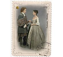 Outlander stamp/Outlander Wedding Photographic Print