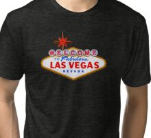 Welcome Las Vegas Shirt Tri-blend T-Shirt