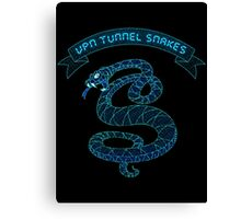 VPN Tunnel Snakes Canvas Print