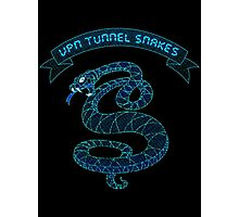 VPN Tunnel Snakes Photographic Print
