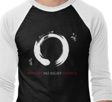 Zen 0 Men's Baseball ¾ T-Shirt