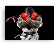 Ryu Street Fighter V artwork t-shirt Canvas Print